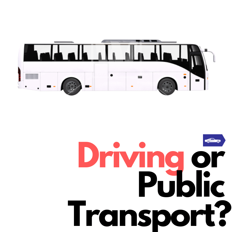 Driving or public transport